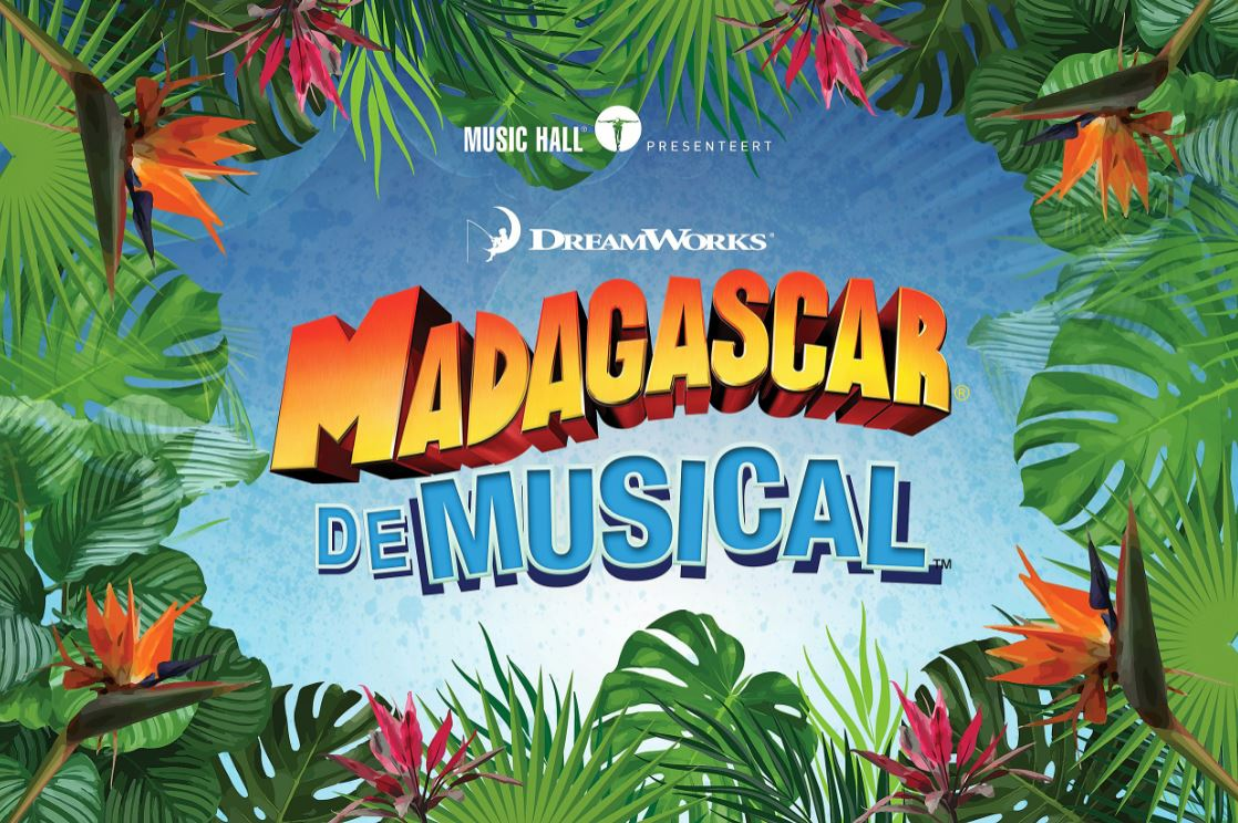 De hoofdcast van 'Madagascar, de Musical' ziet er beestig goed uit!