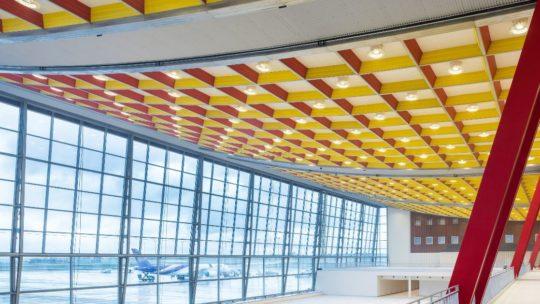 Iconische Skyhall van Brussels Airport krijgt nieuw leven