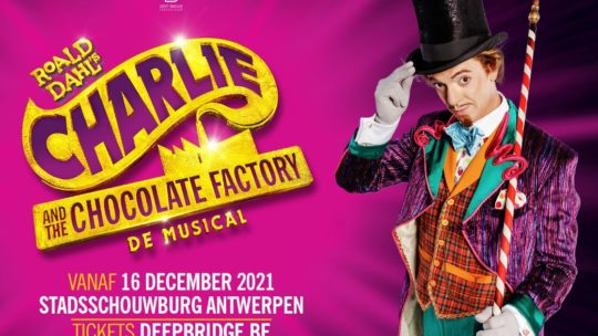 Nordin De Moor wordt 'Willy Wonka' in 'Charlie and the Chocolate Factory'