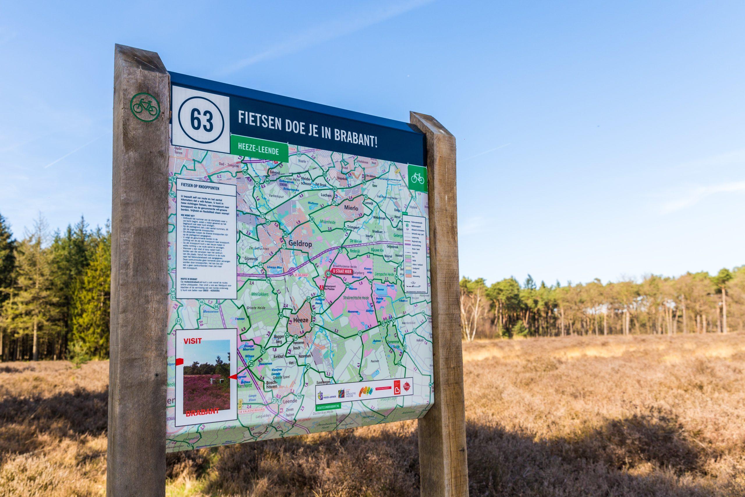 De 10 mooiste fiets- en wandelroutes in Noord-Brabant