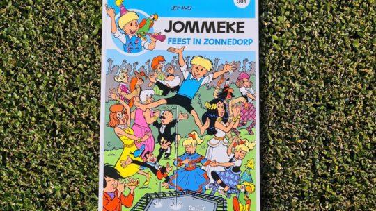 Feest in Zonnedorp, Jommeke wordt 65 jaar!