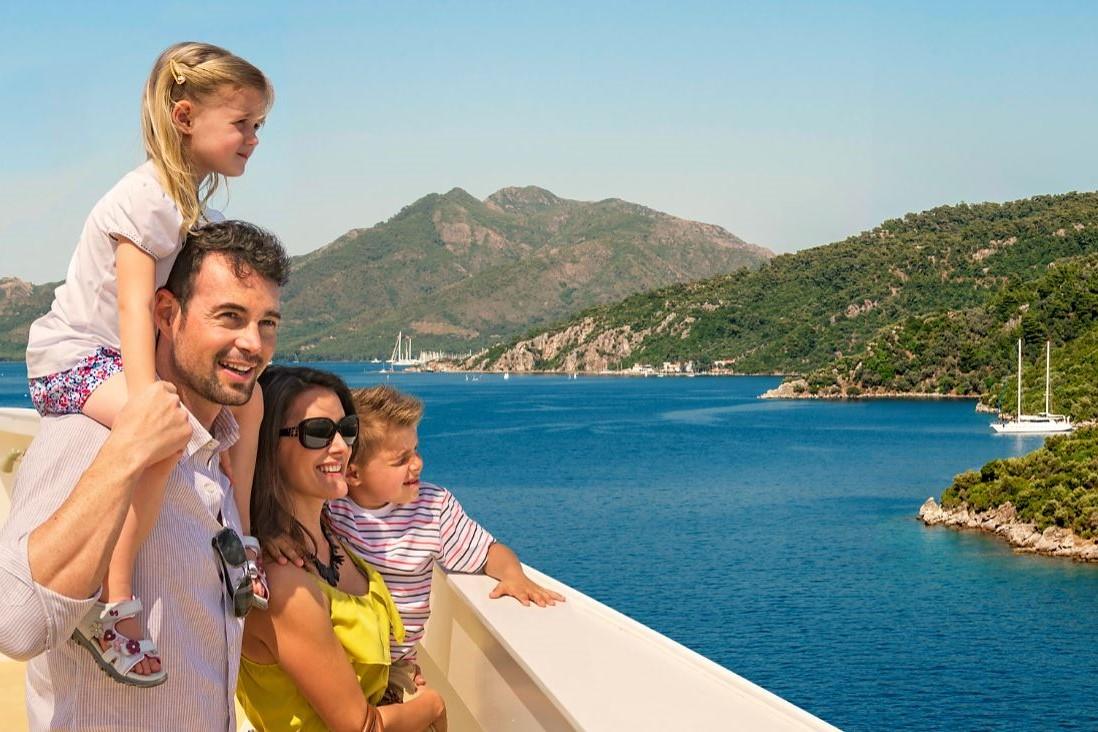 5 redenen waarom een cruise de ideale gezinsvakantie is