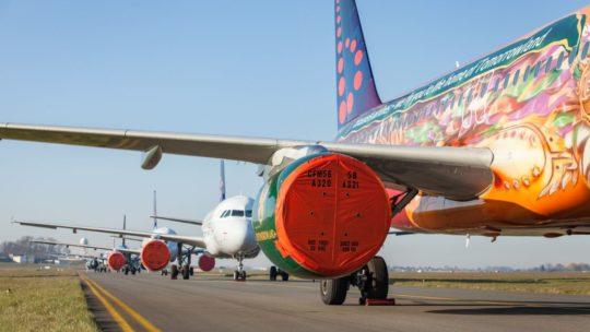 Unieke blik achter de schermen bij Brussels Airlines: hoe een volledige vliegtuigvloot wordt geparkeerd