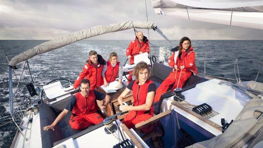 Zes bekende Vlamingen gaan de uitdaging van hun leven aan in 'Over de Oceaan'