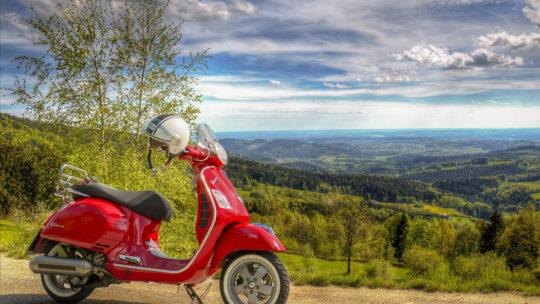 Op twee wielen door Italië