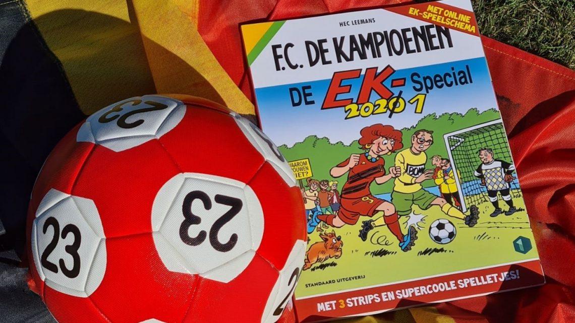 Voetbalgekte in de 'F.C. De Kampioenen EK-special'