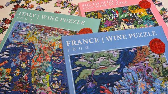 Creatief aan de slag met de duurzame wijnpuzzels van 'Water & Wines'