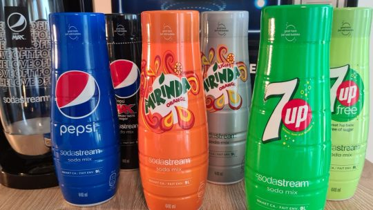 Vanaf nu maak je zelf je favoriete PepsiCo-frisdrank met SodaStream