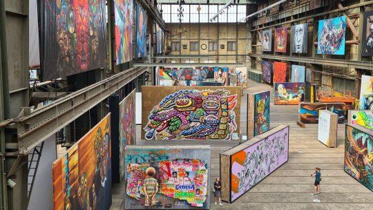 Pas getagd: Gloednieuwe STRAAT vol internationale streetart en graffiti