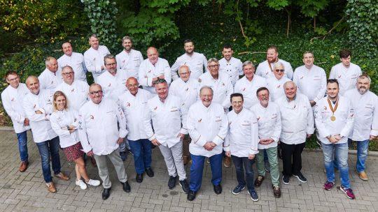 The Mastercooks of Belgium zetten nieuw werkingsjaar in met reeks grootse projecten