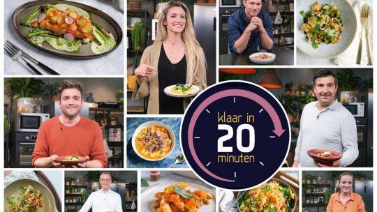 10 chefs gaan culinaire uitdaging aan in tweede seizoen van 'Klaar in 20 Minuten'